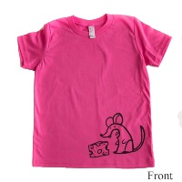 Pink Boys Tee by Quirkie Kids