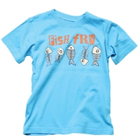 Fish Fry Shirt for Boys by Wes and Willy