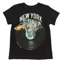 New York Record T-Shirt for Boys