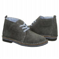 Gray Suede Chukkas for Boys