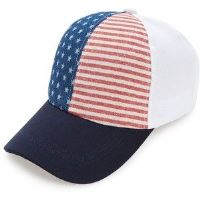 Red, White & Blue Cap for Boys