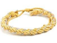 Boy's yellow bracelet