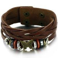 Boys Leather Bracelet