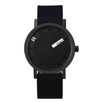 Boy's Full Black Face Watch