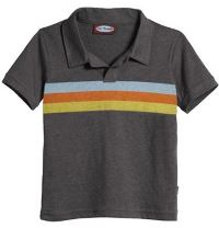 Three Stripes Boy's Polo Shirt