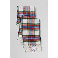 Boys Plaid Scarf