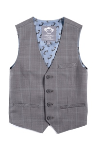 Boys Tailored Vest