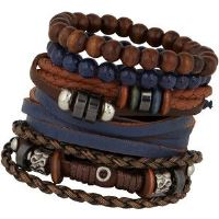 Multi Layered Bracelet for Boys
