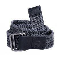 Dark Grey Canvas Belt for Boys