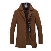 Boys Jacket in Brown