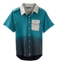 Boy's Dip Dyed Polo by La Miniatura