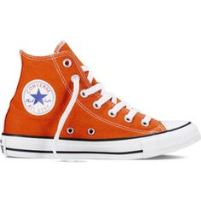 Boy's High Tops in Orange