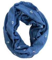 Anchors Infinity Scarf for Boys
