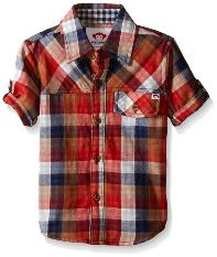 Boys Plaid Button-up Shirt by Appaman