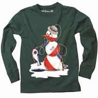 Snowman shirt for boys