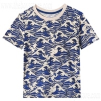 Boy's graphic tee by art & eden