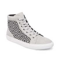 Boys Geometric Pattern Hi-Tops