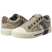 Boys Beige Low Top Sneakers