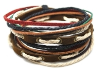 Boy's leather bracelets