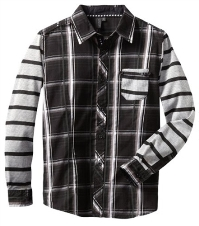 Boy's Button Up Shirt