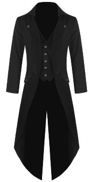 Black Tail Coat for Boys