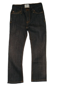 Black Denim Pants by La Miniatura