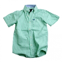 Gingham Dress Shirt for Boys