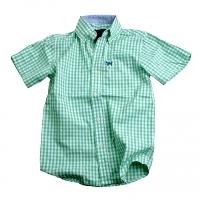 Gingham Dress Shirt for Boys