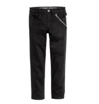 Boy's Twill Pants with Chain