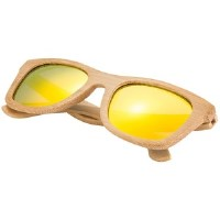 Wood Frame Sunglasses for Boys