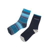 Boys Crew Socks in Blue