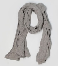 Light Gray Scarf for Boys