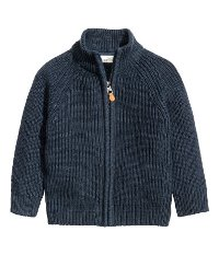 Navy Cardigan for Boys
