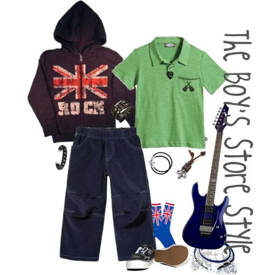 Ready to Rock boy's outfit compilation