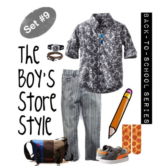 Back to School Outfit for Boys #9