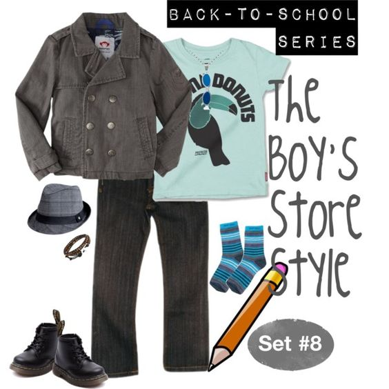 Back to School Outfit for Boys #8