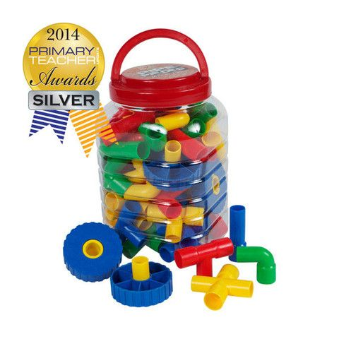 Pipe Pieces Toy Set for Boys
