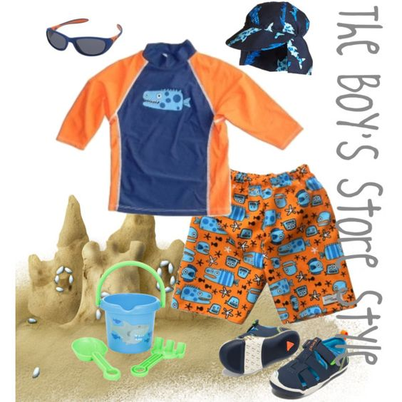Boy's Beachwear Outfit Compilation