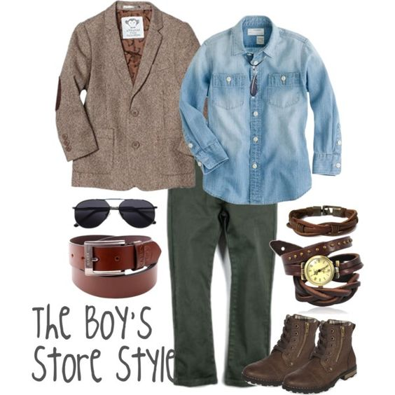 Tweed Blazer Boys Outfit Compilation