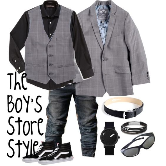 Boys Outfit Compilation - Plaid Style