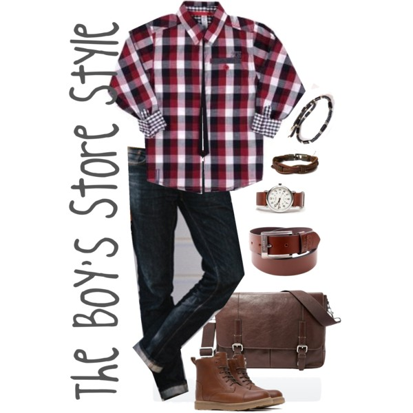Boys Outfit Compilation with Multiple Accessories
